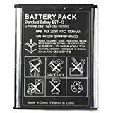 BST-43 Replacement Battery for Sony Ericsson ELM YARI