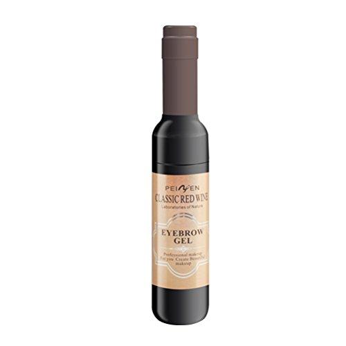Frcolor Sourcils Tatouage Peel Long Lasting Étanche Sourcils Couleur Sourcils Maquillage Teinte Gel (02 Light Brown)