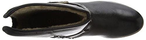 Lotus Madara, Bottes Classiques femme Noir - Black (Blk Leather)