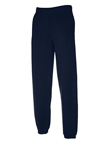Freizeithose Jogginghose mit elastischem Beinabschluss M,Navy
