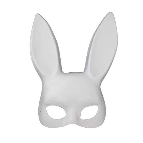 hen Maske Ostern Maskerade Verkleidung Maske Ober Halb Gesichtsmasken - Weiß ()