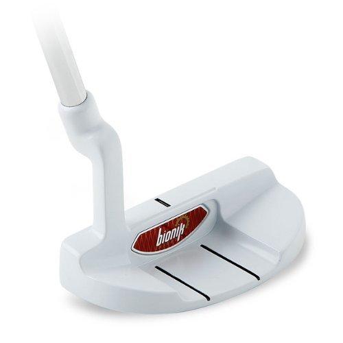 Bionik Golf 105Custom montiert Putter, Nano weiß