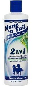 Mane 'n Tail Shampoing + après-shampoing anti-pelliculaire 2 en 1 Anti 355 ml