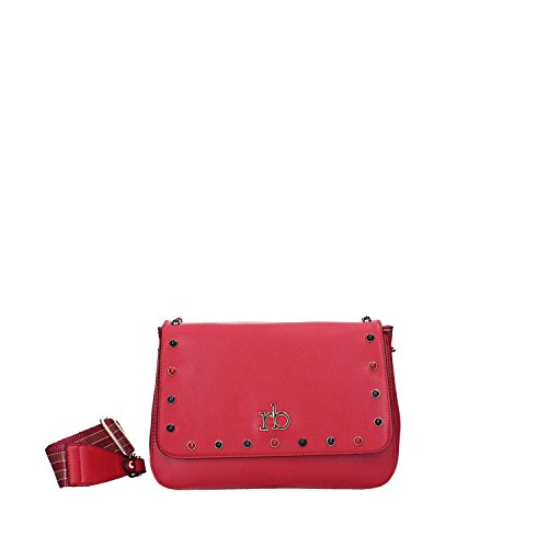 RoccoBarocco BS27602 Borse a spalla Borse e Accessori Rosso