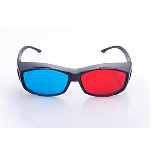 Homiki - Gafas 3D de alta calidad con diseño de Anaglyphe para cámara de DVD o reproducción de DVD 1