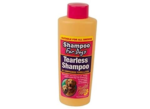 Playful Pets Tearless Dog Puppy Shampoo Gentle Sensitive Non-Irritating 270ml
