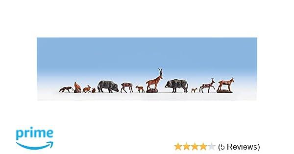 9 Waldtiere 36745 Figuren Noch N