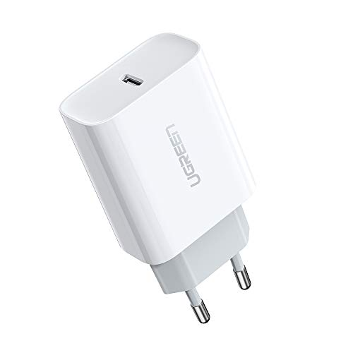 UGREEN 18W Cargador USB Tipo C Power Delivery 3.0