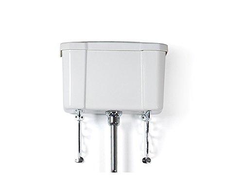 trtc tradizionale bianco per cassetta WC, in ceramica