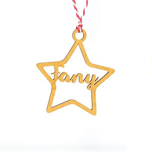 Bolas de navidad personalizadas con nombres