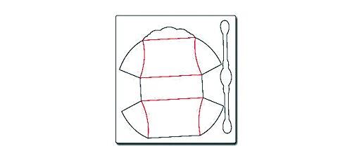 Sizzix Bigz Big Shot Pro Die-cuscino borsa, 6″ X5.75″X2.25″ - 2