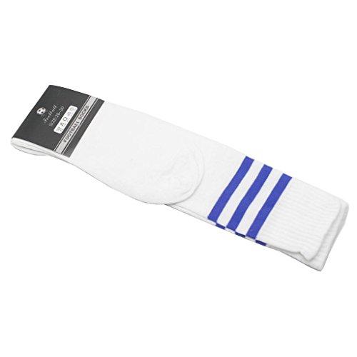 Distinct® Sport Fußball Baseball-Fußball-Basketball Gestreifte über Knie-Knöchel-Mädchen-Dame-Socken
