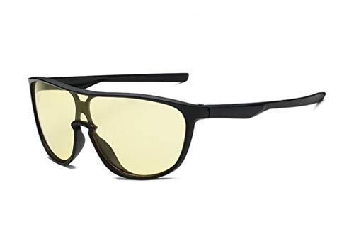 YINshop Sport-Sonnenbrille, Sonnenschutz PC-Objektiv Großer Rahmen Integrierte Unisex Für Baseball Radfahren Angeln Laufen F