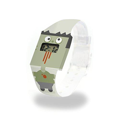 ZOMBIE Pappwatch / Paperwatch / Digitale Armbanduhr aus Tyvek®, absolut reißfest und wasserabweisend