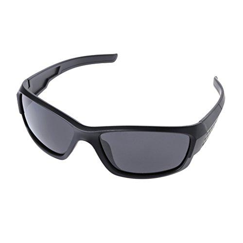 Fysless Fahrradbrille, Radfahren Sonnenbrillen polarisierte Männer Brille Schutz Sport Angeln Bike Shades_D