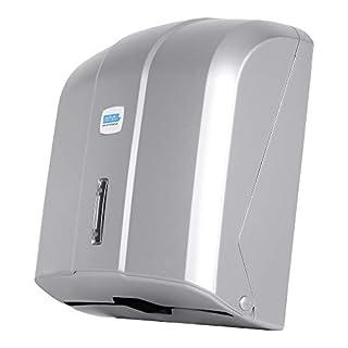 Aviva Papierhandtuchspender | Handtuchspender | Papierspender | verchromt | 300 Blatt | auch für Praxen geeignet | Neu |