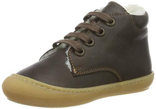 Däumling Unisex Baby Stig Sneaker, Braun (Action Espresso 30), 22 EU