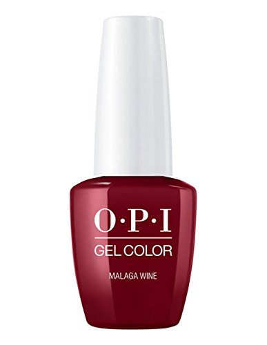 OPI Gelcolor Primari Malaga Wine Vernis semi-permanent, 15 ml