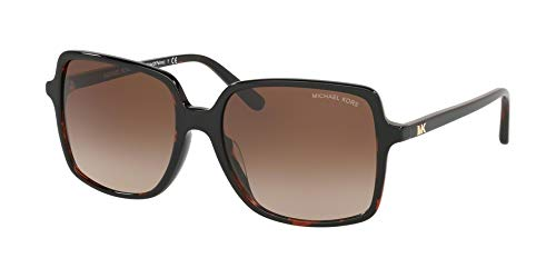 Michael Kors Sonnenbrillen ISLE of Palms MK 2098U Dark Havana/Brown Shaded Damenbrillen