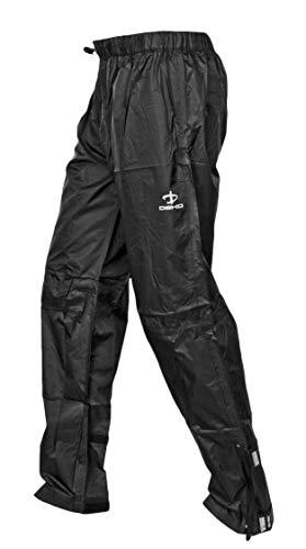 Deko RAIN Suit Herren Fahrrad Regenhose wasserdichte & Winddicht Fahrradhose atmungsaktiv Überziehhose