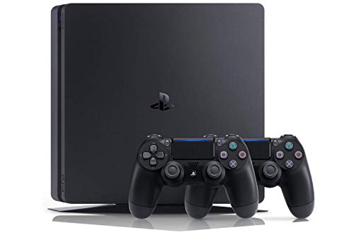 Playstation 4 (PS4) - Consola 500 Gb + 2 Mandos Dual Shock 4 + Contenido Fortnite (Edición Exclusiva Amazon)
