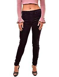 J Brand Velvet 815T635 - Pantalones Vaqueros para Mujer, Color Morado