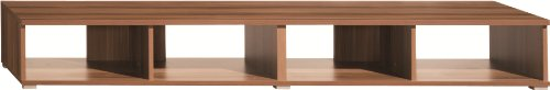 Schmal Wide Tv Unit (Walnut)