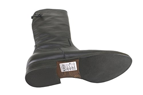 CRUZ Stiefel Damen Schwarz Polieren Leder Schwarz
