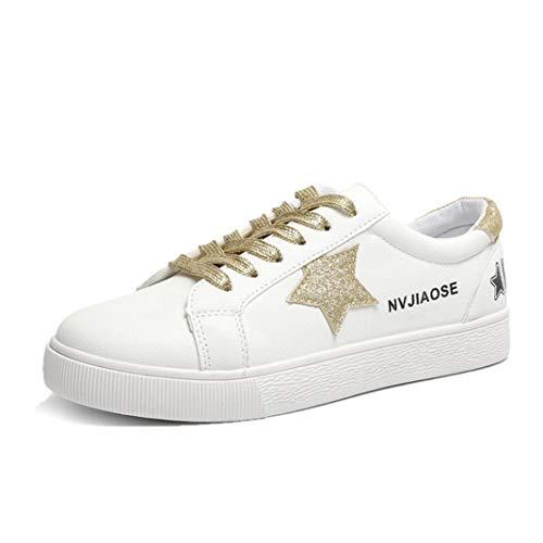 Frauen vulkanisierte Schuhe Sommer Outdoor Skateboard Star Stickerei Low Top Lace Up weiße Turnschuhe weibliche Flache Mode Turnschuhe