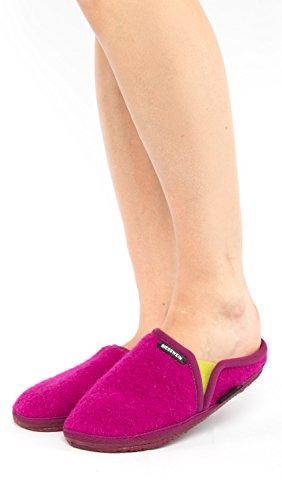 Giesswein Unisex-Erwachsene Nieden Hausschuhe Violett (Traube)