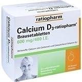 CALCIUM D3-ratiopharm Brausetabletten 40 St Brausetabletten
