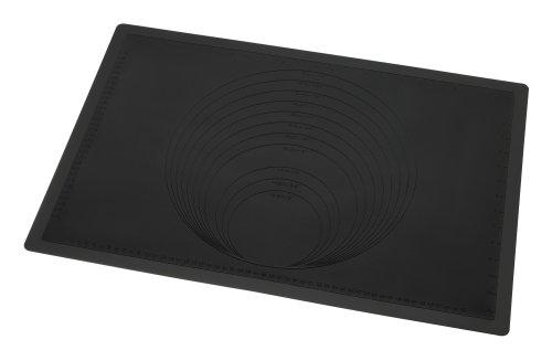 Lurch 12453 FlexiForm Ausroll- und Backunterlage 60 x 40 cm schwarz