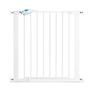 Lindam Easy Fit Plus Deluxe Pressure Fit Safety Gate - 76-82 cm, White