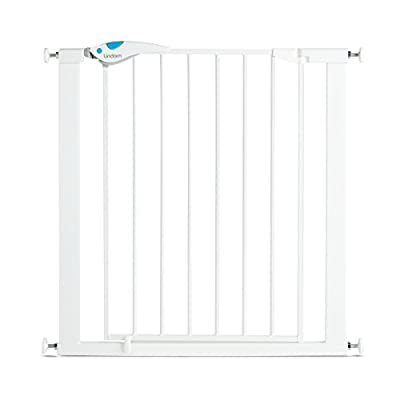 Lindam Easy Fit Plus Deluxe Pressure Fit Safety Gate - 76-82 cm, White  MMDP