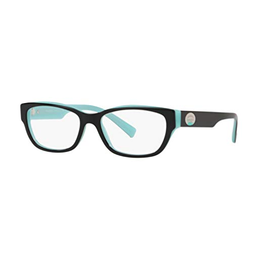 Tiffany & Co. Brillen Tiffany Tf 2172 8055 W/Clear Demo-Objektiv 52mm Schwarz Blau