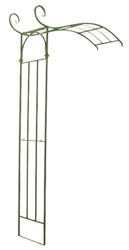 Arche à Rosiers en fer coloris vert antique - 230 x 155 x 40 cm - PEGANE -