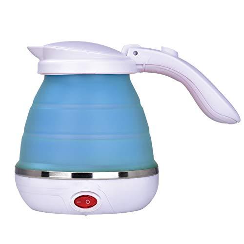 diuspeed 500ml Mini de Silicona de hervidor de agua, hervidor de agua de viaje plegable