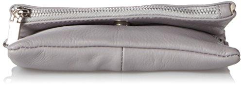 Clutch Bag4less Da Donna, Venezuela, Grigio 3x33x19 Cm (grigio Chiaro)