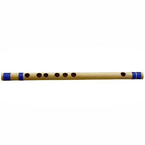 Querflöte Bansuri (Melodie) Anfänger/Professional Bambus Woodwind indischen Musical Instrument 30 CM