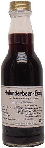 Historische Ölmühle Eberstedt - Eberstedter Holunder-Essig - 200 ml