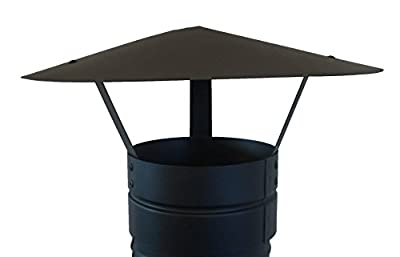 Foxy Metal Fabrication Chimney Cap,rain Cap,chimney Cowl To Fit 5''/125mm Flue Pipe/stove Pipe