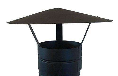 CHIMNEY CAP,RAIN CAP,CHIMNEY COWL TO FIT 5''/125MM FLUE