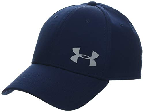 Under Armour Mens Golf Headline Cap 3.0 - Gorra, Hombre, Azul (Academy/Mod Gray 408) L/XL