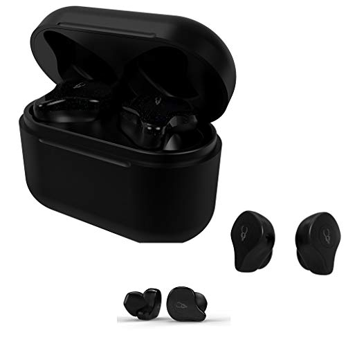 Yowablo Bluetooth Kopfhörer, Bluetooth Ohrhörer in Ear Bluetooth 5.0 Kopfhörer Stereo-Minikopfhörer Sport Kabellose Bluetooth Headset ( Schwarz )
