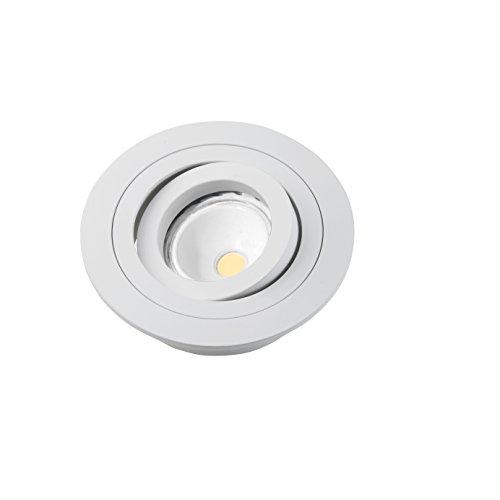 W-E000052 Empotrable redondo + bombilla 8W neutra (4000K). Flujo Luminoso : 410...