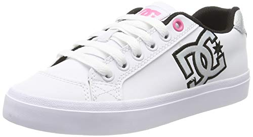 DC Shoes Damen Chelsea Plus Se - Shoes for Women Sneaker, White Geo, 41 EU -