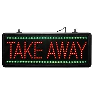 Affichage LED Plaque Take Away-statique & Chase fonctions