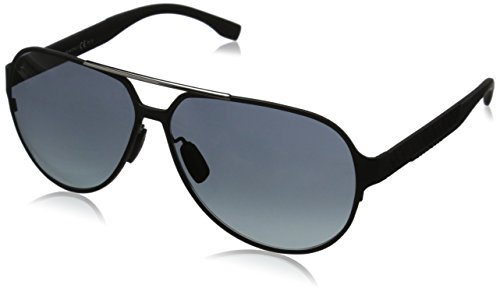 BOSS Hugo Herren 0669/S HD HXJ Sonnenbrille, Schwarz (Mttbk Carbon/Grey Sf), 63