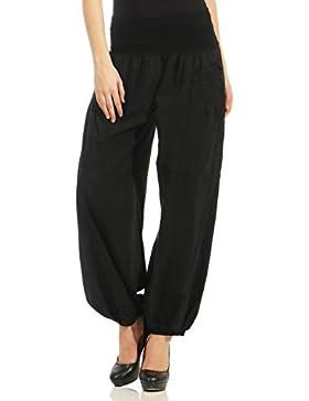 malito Pantalones de Tela Pantal