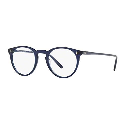 Oliver Peoples Herren Brillengestell Blau blau Einheitsgröße